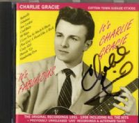 Charlie Gracie - It's Fabulous - It's Charlie Gracie (CTJCD 2) 32 Tracks - Autographed